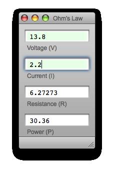 Single coil ohm calculator